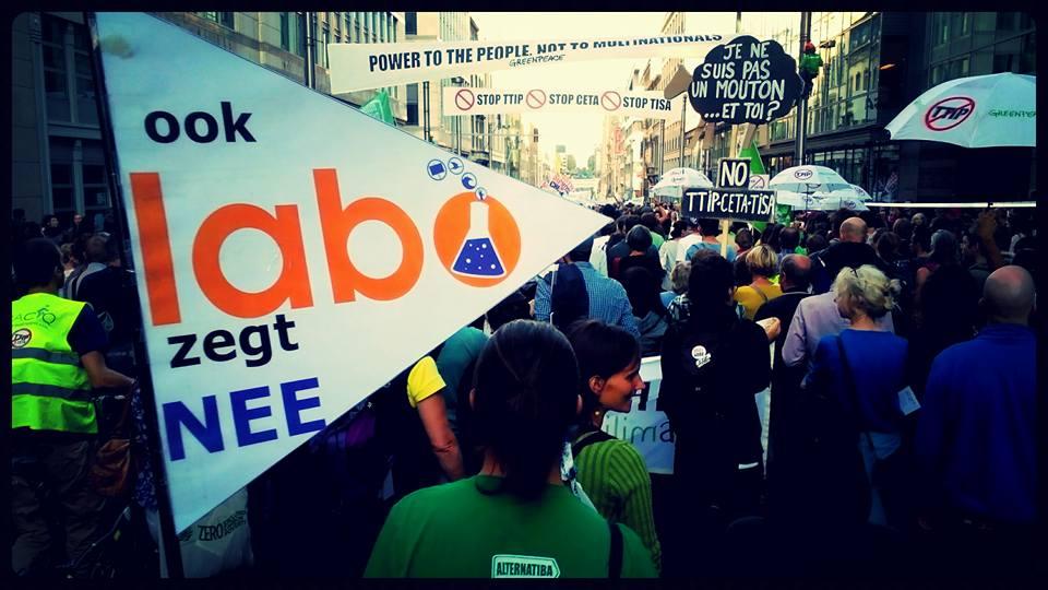 Ook LABO zegt nee tegen TTIP en CETA