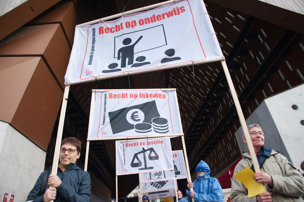 Recht op onderwijs, inkomen, justitie